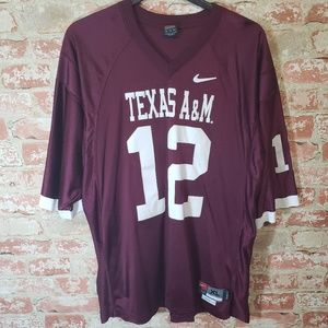 Nike Texas A&M #12 Jersey in XL